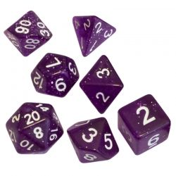 BLACKFIRE DICE - 16mm Set - Magic Purple