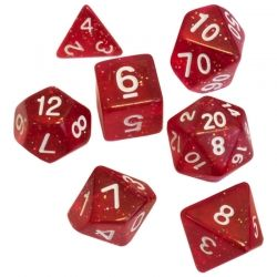 BLACKFIRE DICE - 16mm Set - Magic Red
