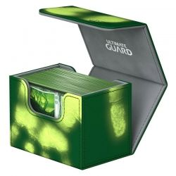 КУТИЯ ЗА КАРТИ - ULTIMATE GUARD SIDEWINDER CHROMIASKIN (за LCG, TCG и др) 80+ - ЗЕЛЕНА
