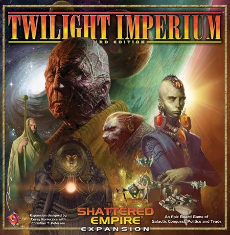 TWILIGHT IMPERIUM SHATTERED EMPIRE EXPANSION