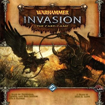 WARHAMMER INVASION THE CARD GAME
