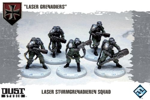DUST TACTICS - LASER GRENADIERS - Expansion