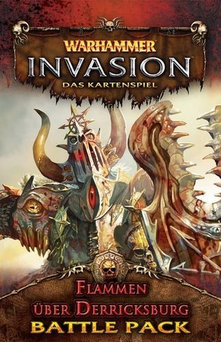 WARHAMMER INVASION - THE BURNING OF DERRICKSBURG -  BATTLE PACK 2