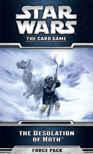 STAR WARS The Card Game - THE DESOLATION OF HOTH - Force Pack 1