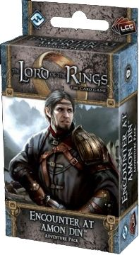 The LORD Of The RINGS The Card Game - ENCOUNTER AT AMON DIN - Adventure Pack 3