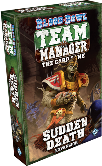 BLOOD BOWL TEAM MANAGER - SUDDEN DEATH - Expansion