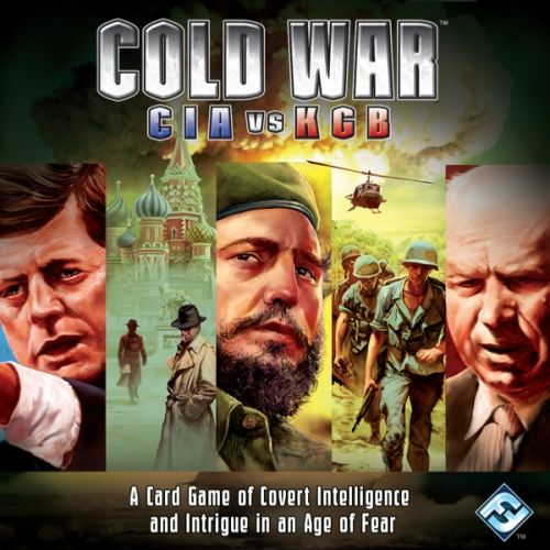 COLD WAR CIA VS KGB