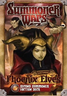 SUMMONER WARS : PHOENIX ELVES SECOND SUMMONER Faction Deck