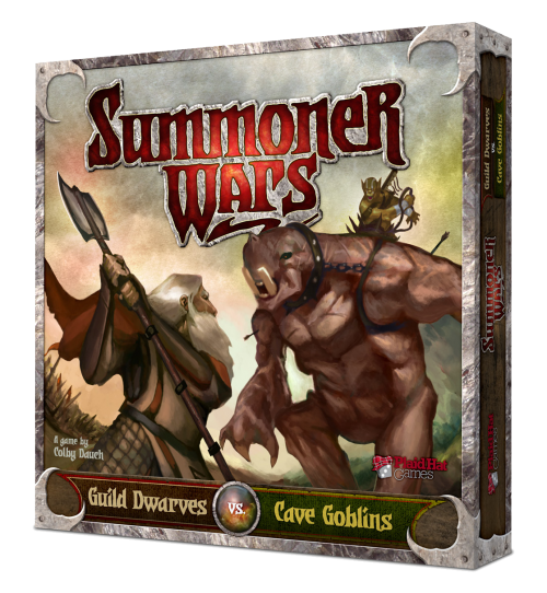 SUMMONER WARS : STARTER SET GUILD DWARVES VS CAVE GOBLINS