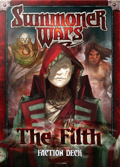 SUMMONER WARS :THE FILTH Faction Deck