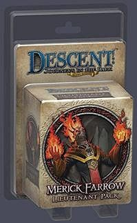 DESCENT - MERICK FARROW - Lieutenant pack