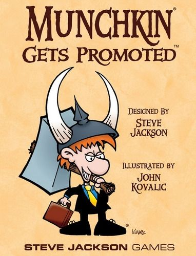 MUNCHKIN GETS PROMOTED - EXPANSION
