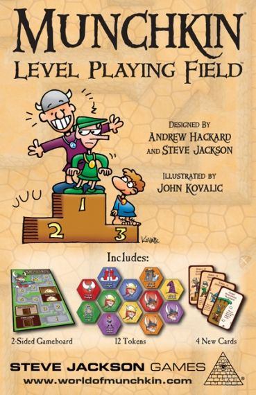 MUNCHKIN  LEVEL PLAYING FIELD - EXPANSION