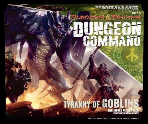 D&D DUNGEON COMMAND: TYRANNY OF GOBLINS - MINIATURE FACTION PACK