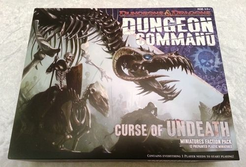 D&D DUNGEON COMMAND: CURSE OF UNDEATH - MINIATURE FACTION PACK