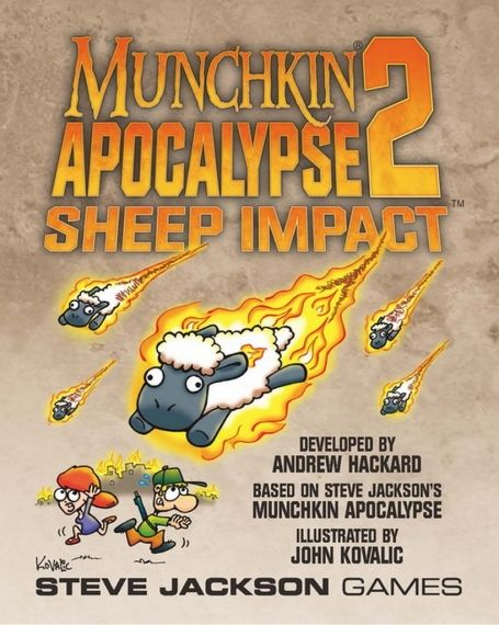 MUNCHKIN APOCALYPSE 2 - SHEEP IMPACT - EXPANSION