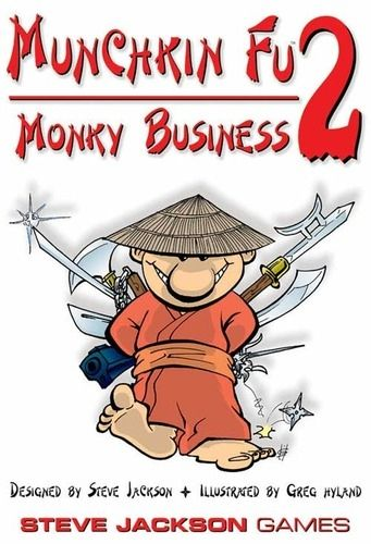 MUNCHKIN FU 2 - MONKY BUSINESS - EXPANSION