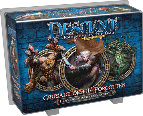 DESCENT 2nd EDITION - CRUSADE OF THE FORGOTTEN