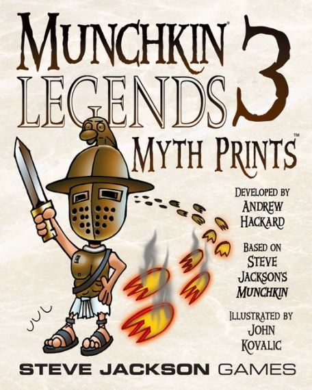 MUNCHKIN LEGENDS 3 - MYTH PRINTS - EXPANSION