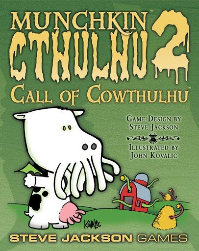 MUNCHKIN CTHULHU 2 - CALL OF COWTHULHU - EXPANSION