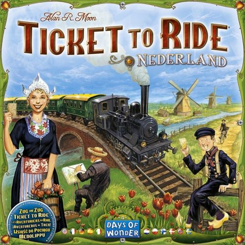 TICKET TO RIDE MAP COLLECTION VOL. 4 - NEDERLAND
