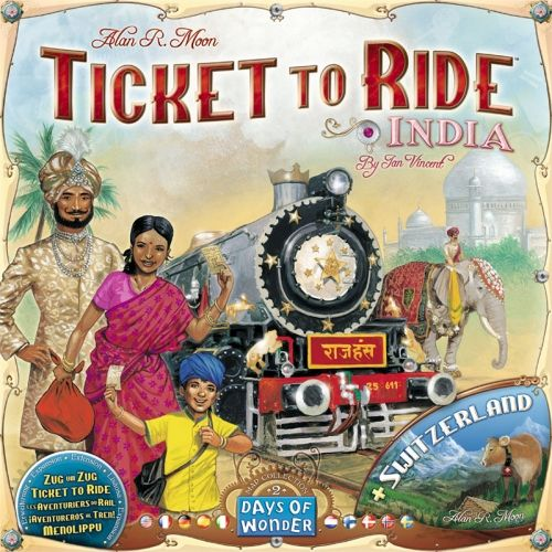 TICKET TO RIDE MAP COLLECTION: VOL. 2 - INDIA & SWITZERLAND