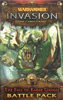 WARHAMMER INVASION - THE FALL OF KARAK GRIMAZ -  Battle Pack 1