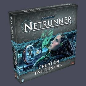 ANDROID: NETRUNNER The Card Game - CREATION AND CONTROL - Expansion