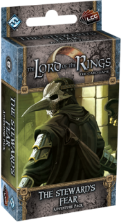The LORD Of The RINGS The Card Game - THE STEWARD'S FEAR  - Adventure Pack 1