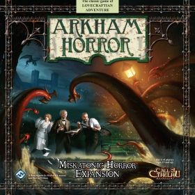 ARKHAM HORROR : MISKATONIC HORROR - Expansion