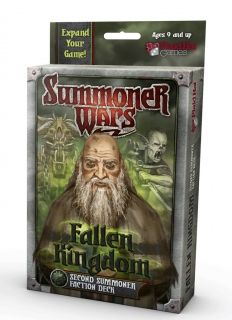 SUMMONER WARS : FALLEN KINGDOM SECOND SUMMONER Faction Deck