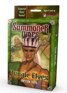 SUMMONER WARS : JUNGLE ELVES Faction Deck