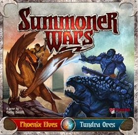 SUMMONER WARS : STARTER SET PHOENIX ELVES VS TUNDRA ORCS