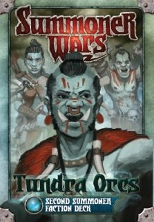 SUMMONER WARS :  TUNDRA ORCS SECOND SUMMONER Faction Deck