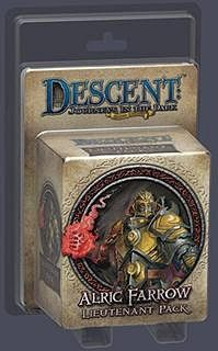 DESCENT - ALRIC FARROW - Lieutenant pack