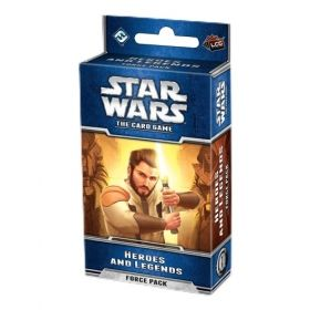 STAR WARS The Card Game - HEROES AND LEGENDS - Force Pack 1