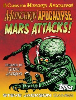 MUNCHKIN APOCALYPSE - MARS ATTACKS! - EXPANSION