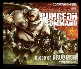 D&D DUNGEON COMMAND: BLOOD OF GRUUMSH - MINIATURE FACTION PACK