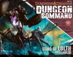 D&D DUNGEON COMMAND: STING OF LOLTH - MINIATURE FACTION PACK