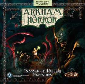 ARKHAM HORROR : Innsmouth Horror - Expansion