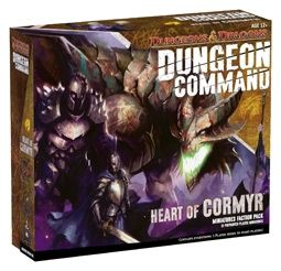 D&D DUNGEON COMMAND: HEART OF CORMYR - MINIATURE FACTION PACK