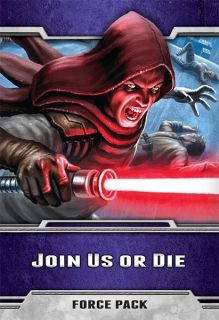 STAR WARS The Card Game - Join Us or Die - Force Pack 4