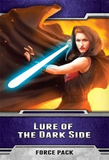 STAR WARS The Card Game - LURE OF THE DARK SIDE - Force Pack 2