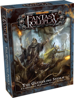 WARHAMMER FANTASY ROLEPLAY - THE GATHERING STORM