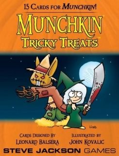 MUNCHKIN TRICKY TREATS - EXPANSION
