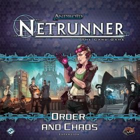ANDROID: NETRUNNER The Card Game - ORDER AND CHAOS - Expansion
