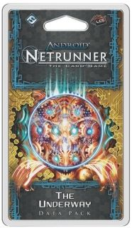 ANDROID: NETRUNNER The Card Game - The Underway - Data Pack 4