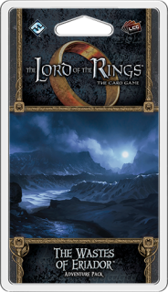 The LORD Of The RINGS The Card Game - The Wastes of Eriador - Adventure Pack 1