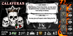 SONS OF ANARCHY - MEN OF MAYHEM - CALAVERAS - CLUB EXPANSION