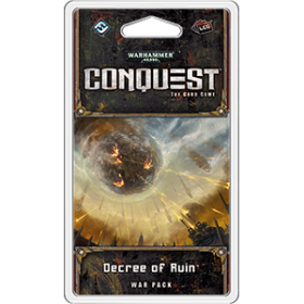 WARHAMMER 40 000 - CONQUEST: DECREE OF RUIN - War Pack 6